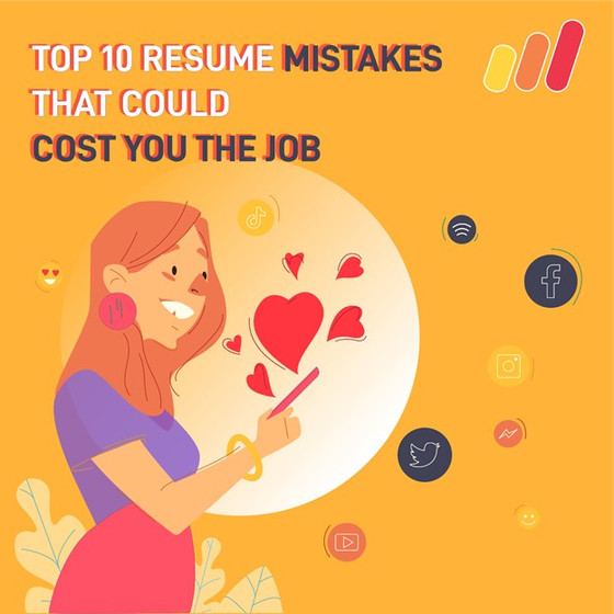 Top 10 Resume Mistakes That Could Cost You The Job