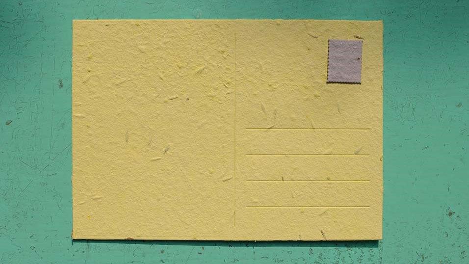 BIGL11 Cartolina Piantabile 15x10,5 cm in Carta che Germ