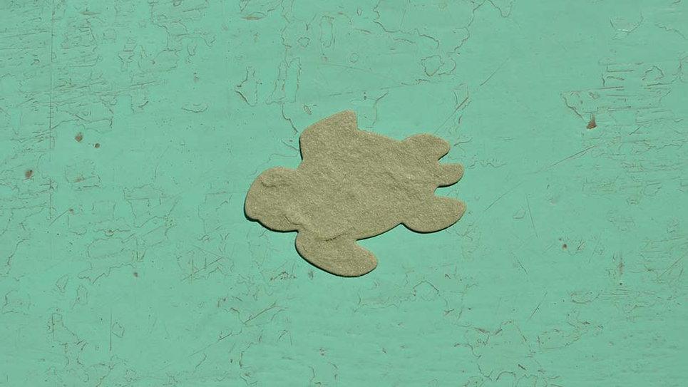 TAR1 Tartaruga Piantabile 4,3X3,2 cm in Carta che Germoglia