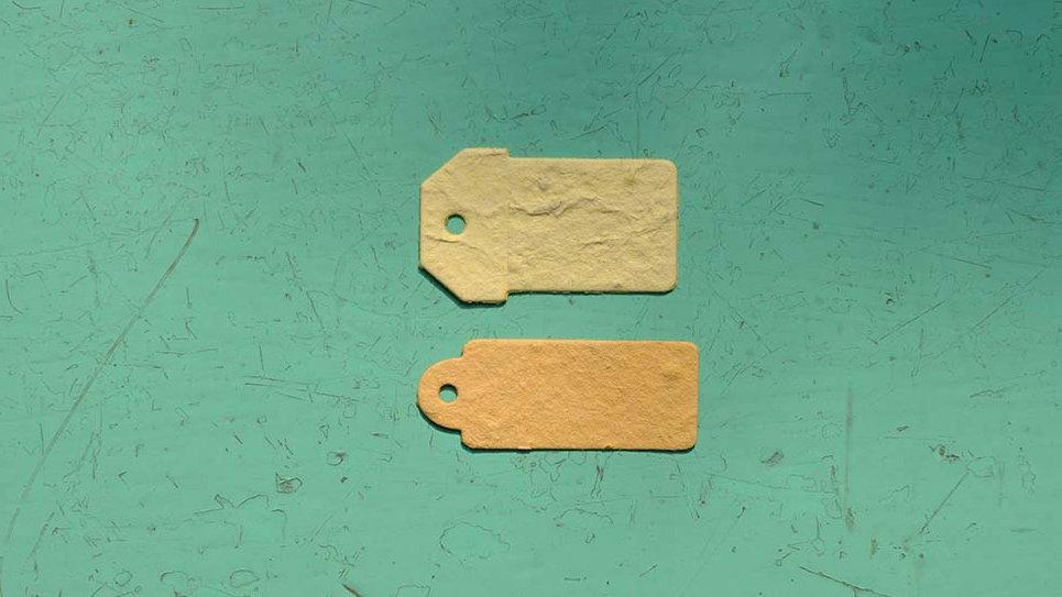 TAG2 Tags Piantabile di varie misure in Carta che Germoglia