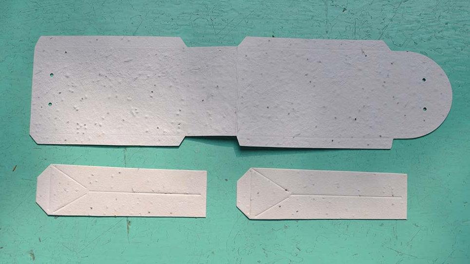 SCAT1 Scatola Piantabile 11x6,5x3,5cm chiusa da assemblare