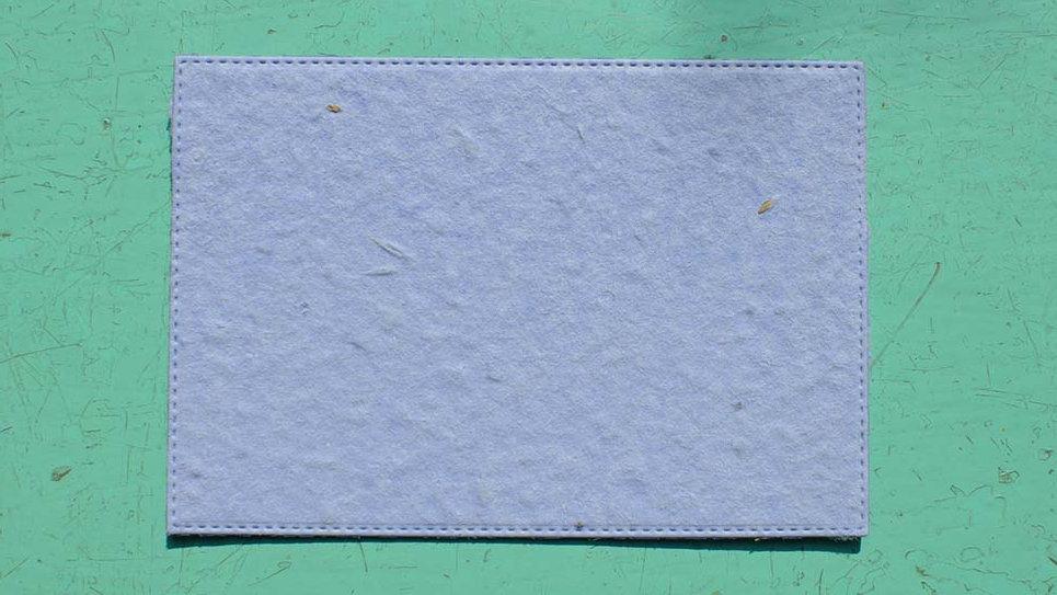 BIGL7S Biglietto Rettangolo+Stampa Piantabile 11,5x8cm in Ca
