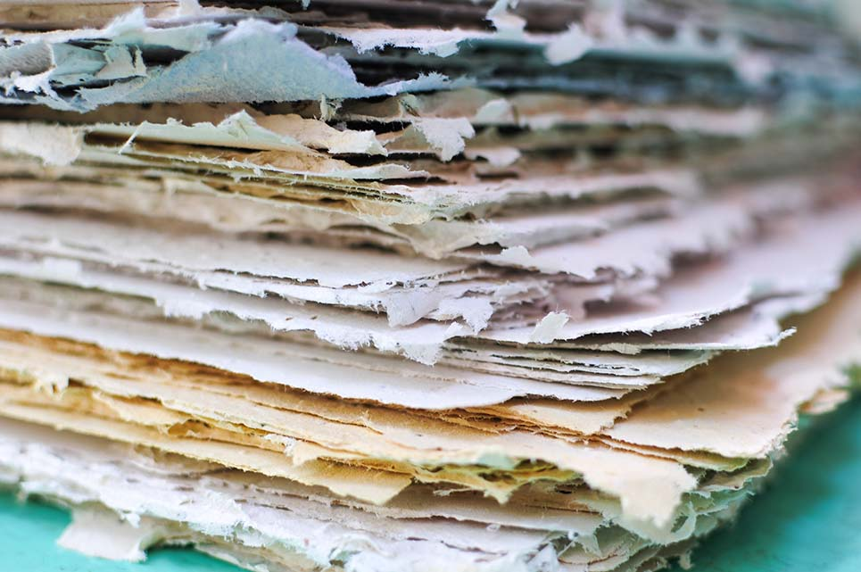 carta piantabile fatta a mano italia