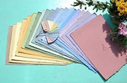fogli colorati carta piantabile