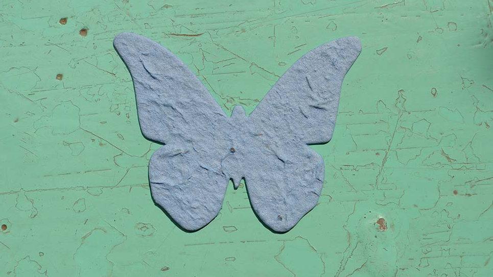 FA1 Farfalla Piantabile 7x6 cm in Carta che Germoglia