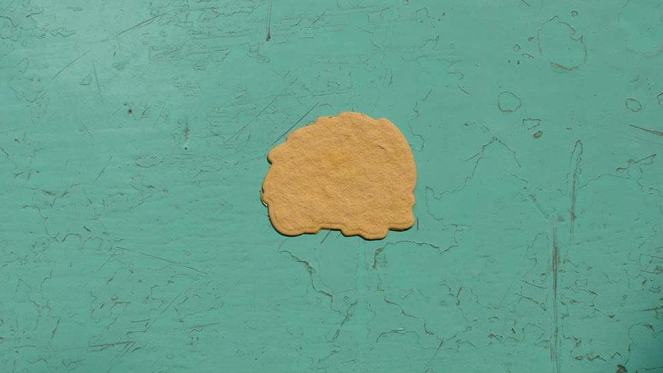 RIC1 Riccio Piantabile 3X2,5 cm in Carta che Germoglia