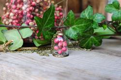 collana con pepe rosa