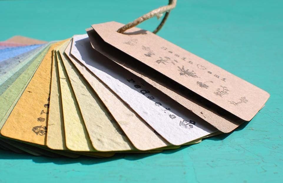 tag seminabili carta che germoglia