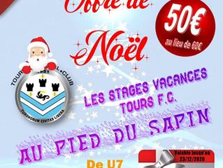 OFFRE CADEAU - Stage des vacances de Février 2021