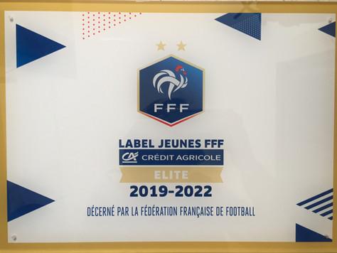 Remise Label Jeunes FFF - Niveau Elite
