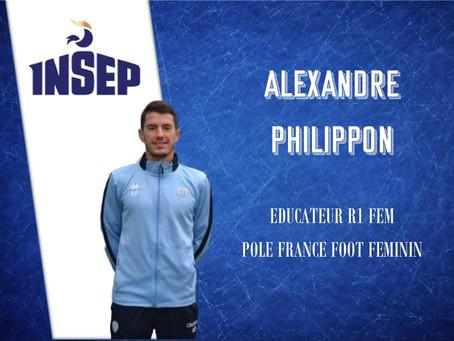 FOCUS SUR ALEXANDRE PHILIPPON - Responsable Section Féminine & éducateur R1 Féminine