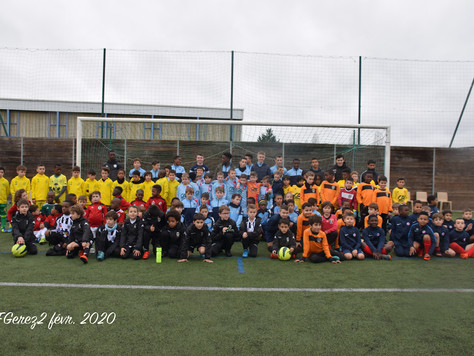 Rassemblement U9 - Stade de la Vallée du Cher