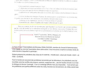 Compte rendu Réunion du 17/09/18                       Sport sans Violence