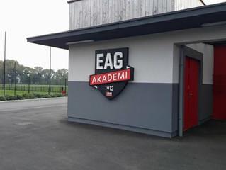 Retour en image sur le week-end de notre équipe U16 au Centre d'entraînement de   l'EA Guing