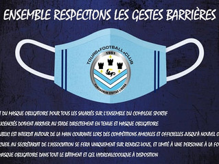 RESPECTONS LES GESTES BARRIERES