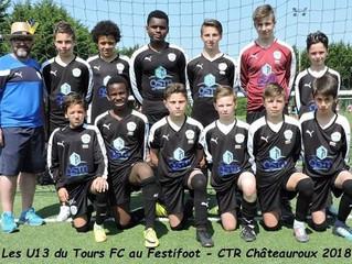 Finale Festifoot U13 au CTR de Châteauroux - samedi 5 mai 2018
