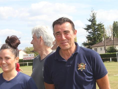 Rencontre avec Xavier Lecomte , éducateur senior R1 féminine.