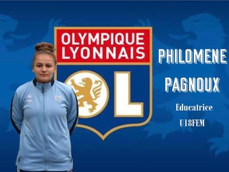 FOCUS SUR PHILOMENE PAGNOUX - Educatrice U18 R1 Féminine