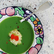 Broccoli, Leek & Spinach Soup