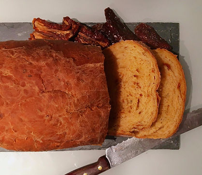 Sundried Tomato, Goat's Cheese & Rosemary Bread