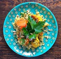 Butternut Squash, Cauliflower & Quinoa Salad