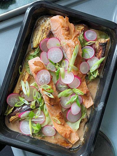 Thai Style Fish Bake