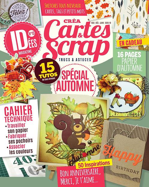 Idées Créa Cartes & Scrap n°13