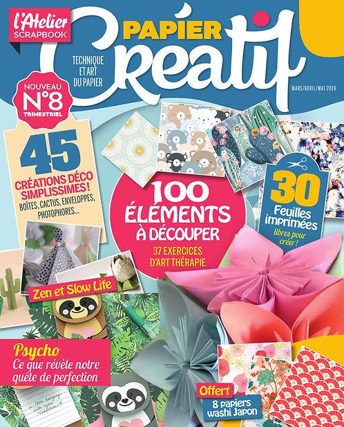 L'Atelier Scrapbook n°8