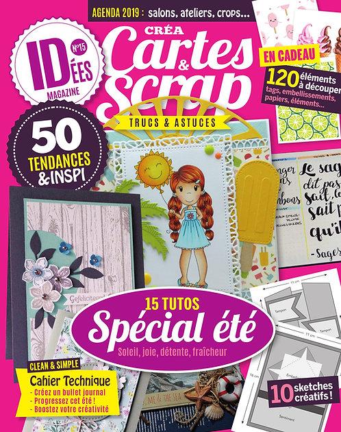 Idées Créa Cartes & Scrap n°15