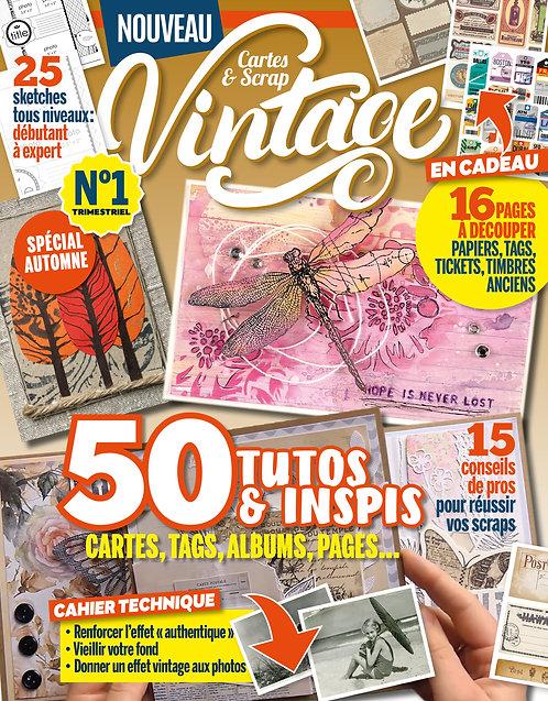 Idées Créa Cartes & Scrap Vintage n°1