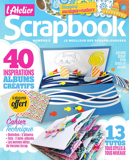 L'Atelier Scrapbook n°5