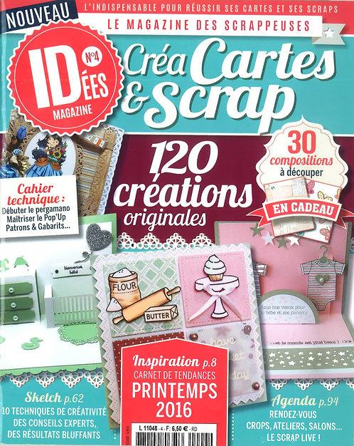 Idées Créa Cartes & Scrap n°4