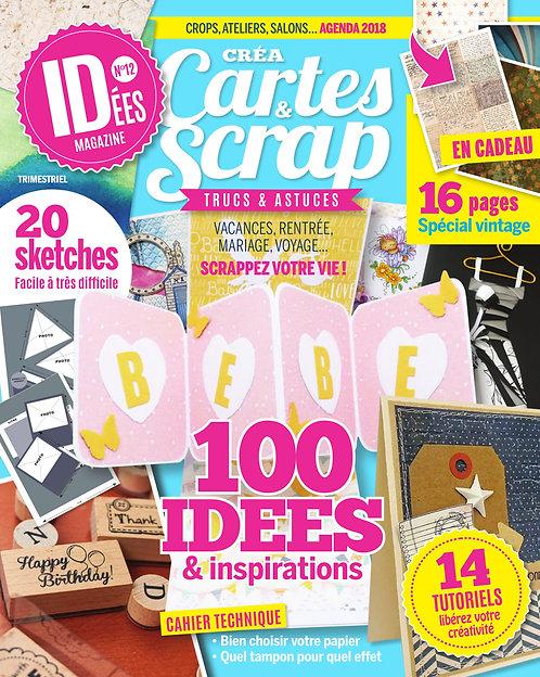 Idées Créa Cartes & Scrap n°12