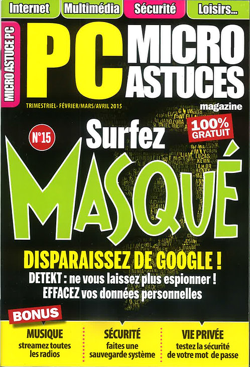 Micro Astuces PC n°15