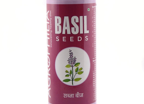 Agrophilia Basil Seeds Can pack (200g)