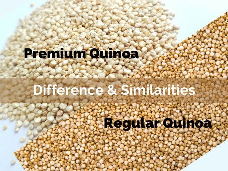 AGROPHILIA White Quinoa VS Premium White Quinoa