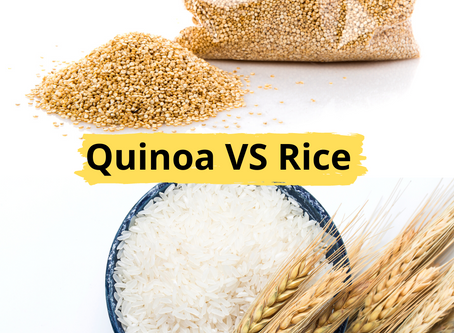 Quinoa  VS Rice : Which one is healthier?