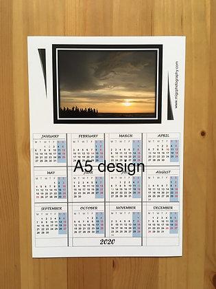 2021 Landscape Calendar Magnet