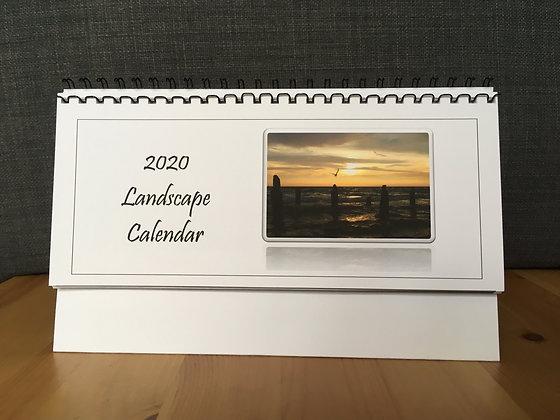 Landscape Calendar 2020 Handmade