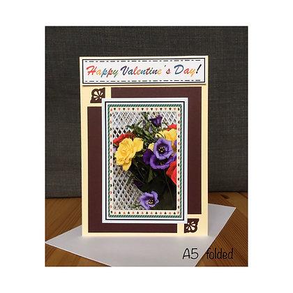 Valentine's Day Card Bouquet