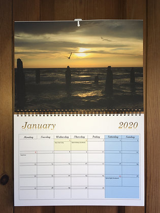 Wall Calendar 2020 ''Flying Away''
