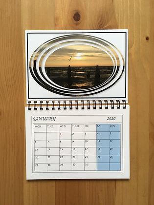 Calendar Magnet A6 2020 ''Flying Away''