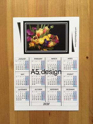 Calendar Magnet ''Bouquet Of Flowers''