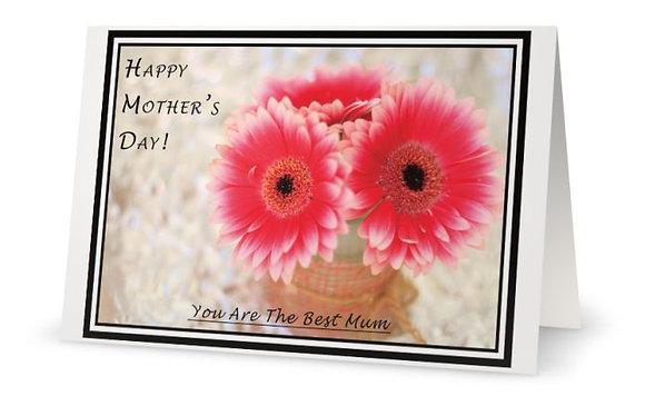 Mother's Day Card ''Gerberas''