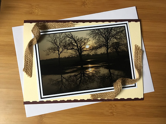 """Any Occasion Card """"Reflections"""""""