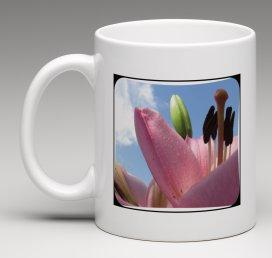 Mug With Lily ''Good Morning Beautiful..''