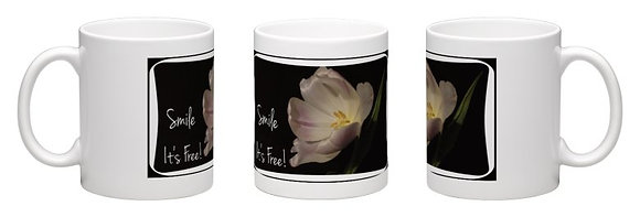 Ceramic Photo Mug Of Tulip