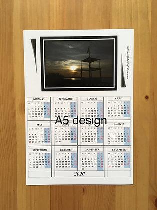 Landscape Calendar Magnet 2020