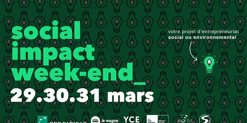 Social Impact Weekend Edition 2019