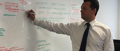 Lawrcene Hoare Business Consultant Strategy Mentoring